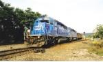 CR 6389 shoves coal eastbound