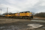 UP 5868 on sulpher train