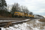 UP 5317 on reefer train (ZWASKP on the UP)
