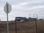 Alliance yard Intermodal yard