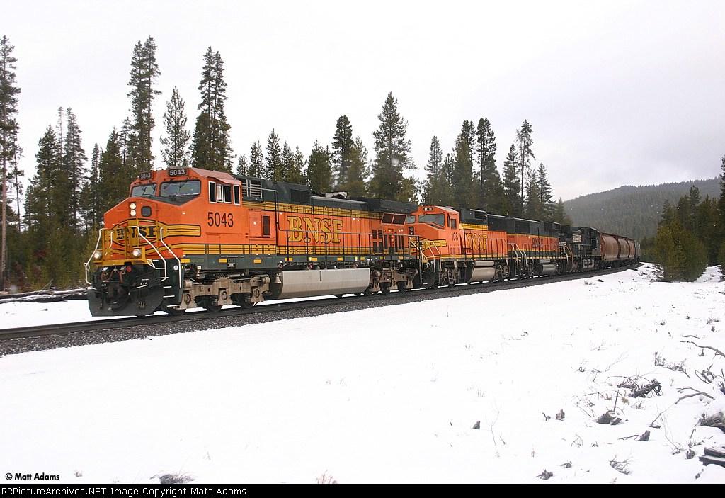 BNSF 5043 South