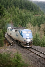Northbound Coast Starlight