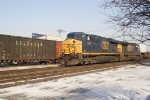 CSX 5366 Eastbound at Mt Vernon St crossing