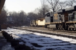CSX 5366 passes NYSW yard job at former NYC RR station