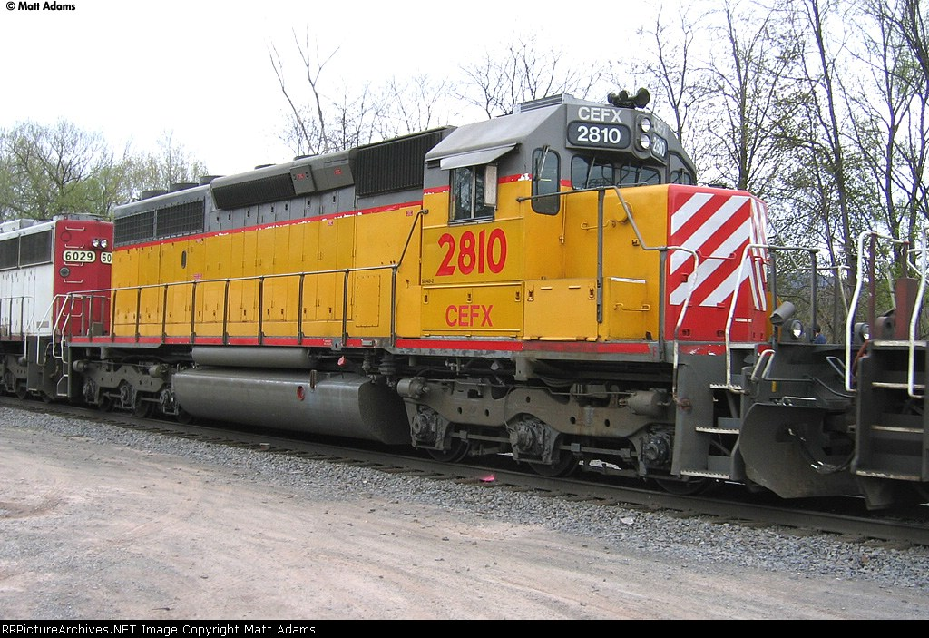 CEFX SD40-2 2810