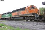 BNSF SD40-2 6934