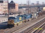 CSX southbound train Q685
