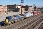 Southbound CSX train Q519
