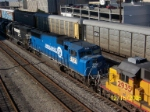 Closeup of ex Conrail 5731
