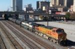 Northbound CSX train Q679