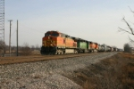 BNSF 4164 on Q381
