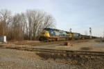 CSX 245 heads for the South Shore interchange