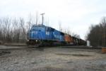 NS 6727 in under way