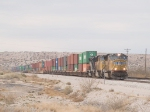 UP 4723 heads up an intermodal EB at 1:29 with 263 axles