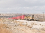 UP 4388 leads an EB intermodal towards El Paso at 12:28pm