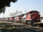 5 ferromex locos 2 SD70aCE and 3 AC4400