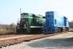 Greenville & Western Power in the Yard