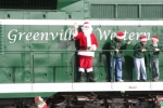 Slightly Underweight Santa on the G&W GP9