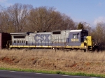 CSX 5944 drops cars for Pickens Railway at the Belton Yard