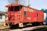 Southern Cabooxe X436 on Greenville & Western Railway