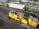 Union Pacific SD9043MAC at the Fuel Pads
