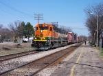 BNSF 8017 & 9599