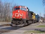 CN 2649 & BNSF 6722 WB