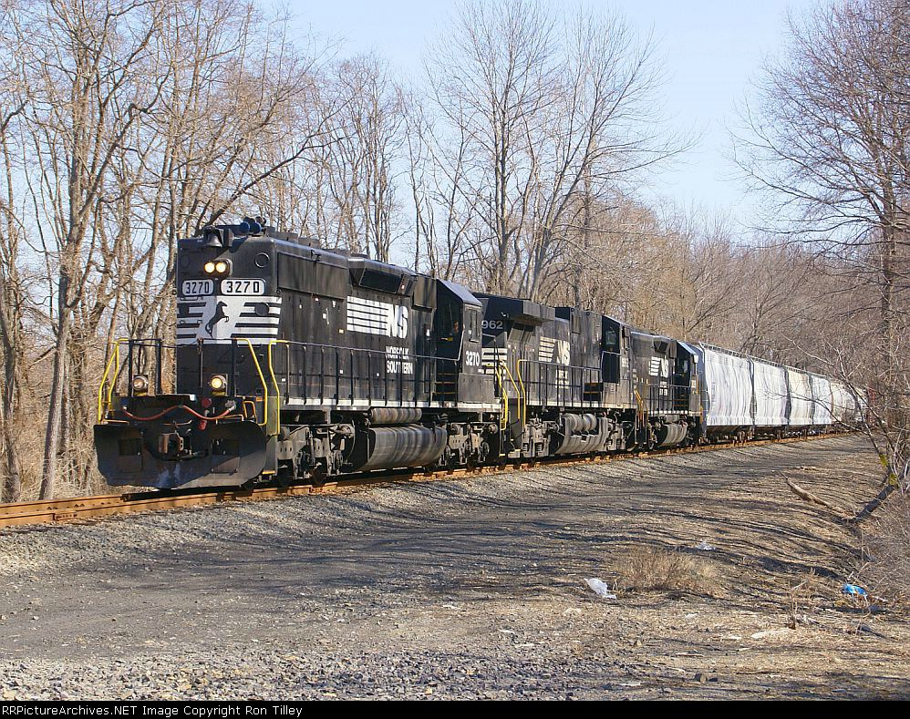 H65 with a D9 crossing Millpond Rd