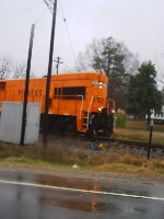 PICK 9508 at the Grade Crossing