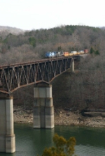 """Conrail on the Bridge"""