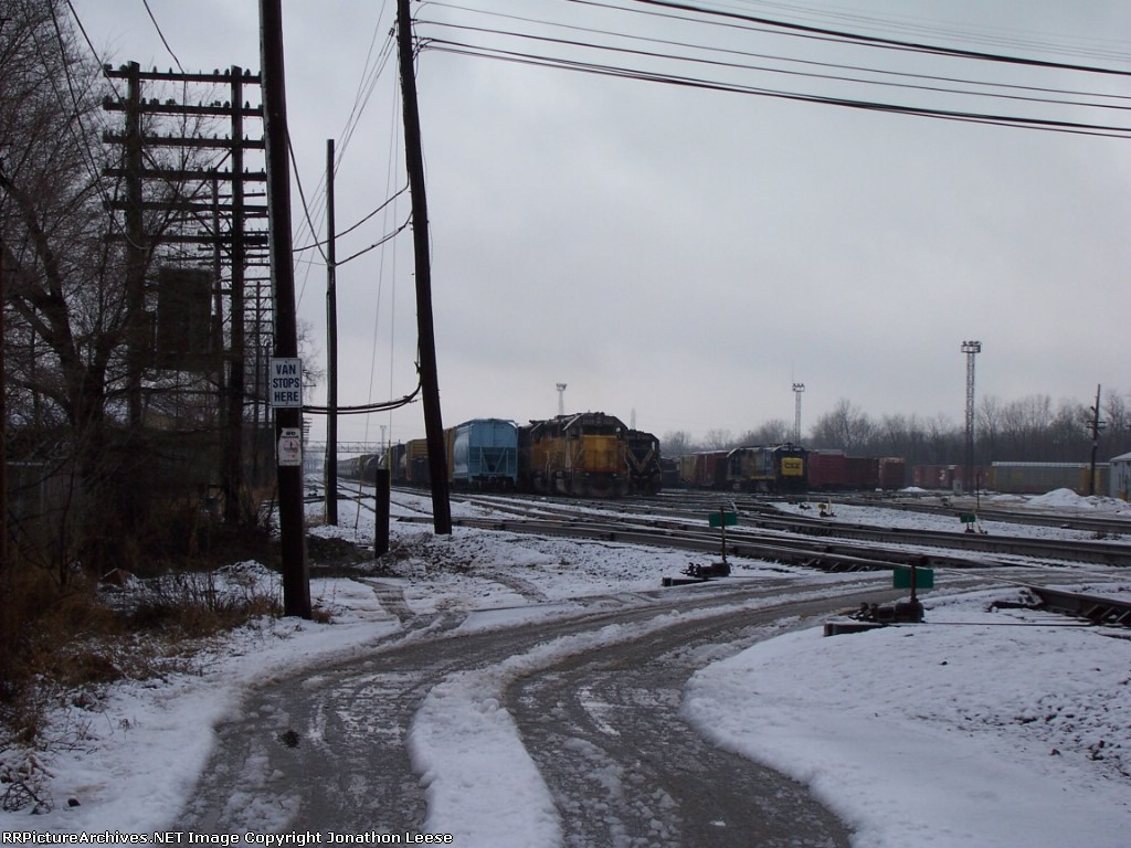 Marquette Rail on New Years Eve