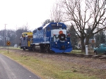 MQT Santa Train Arriving