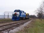 Santa Train Arriving