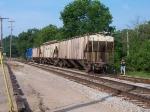 GMTX 2676 Switching A Grain Train