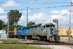 Z151 crosses Ann St. with one of Michigan's elite foamers on the point