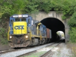 CSX 7495 on Q547 Southbound