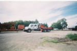 CN boom/wheel truck at mattoon yard