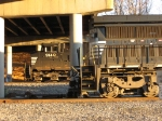 NS 9140 & 8426 underneath Memorial Bridge