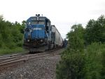 Conrail Engine 3360 Does Some Work At Aeropres Industries Picking Up And Leaving Some Tank Railcars