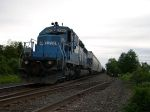 Conrail Engine 3360 Get's Ready To Move Southbound
