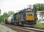 CSX 6919 on Y223