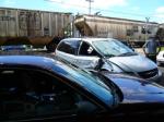 K803 hit minivan on 43rd street