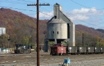 Yard and old coaling tower