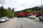 CPR Intermodal at Banff