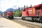 CPR Intermodals at Banff