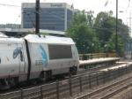 AMTK 2031 passing temporary platform