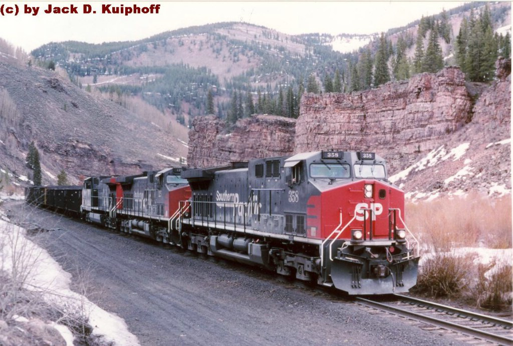 SP 358 is on the west slope of Tennessee Pass,
