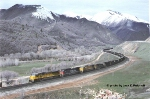 UP 8080 is heading to Helper, Utah.