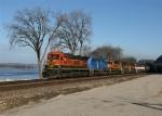 BNSF 8607 with train H-NTWGAL
