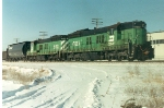 Burlington Northern SD-9 Units